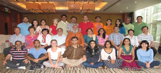 Prosperity yoga singapore  group pic